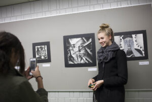Art work of Invent seniors on display at Art gallery